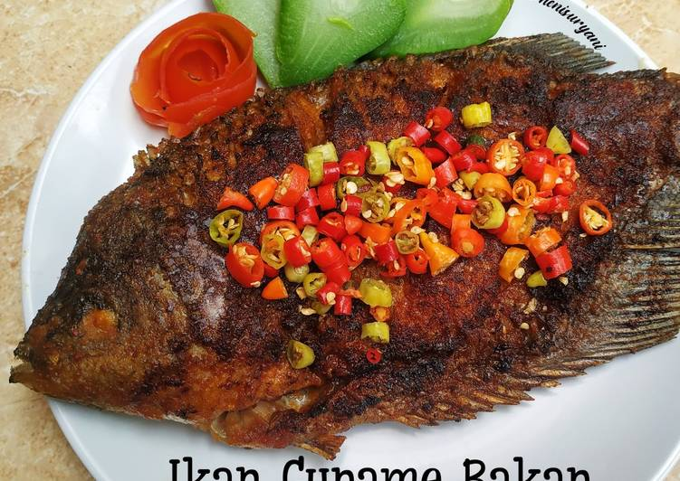 137. Ikan Gurame Bakar Bumbu Jimbaran