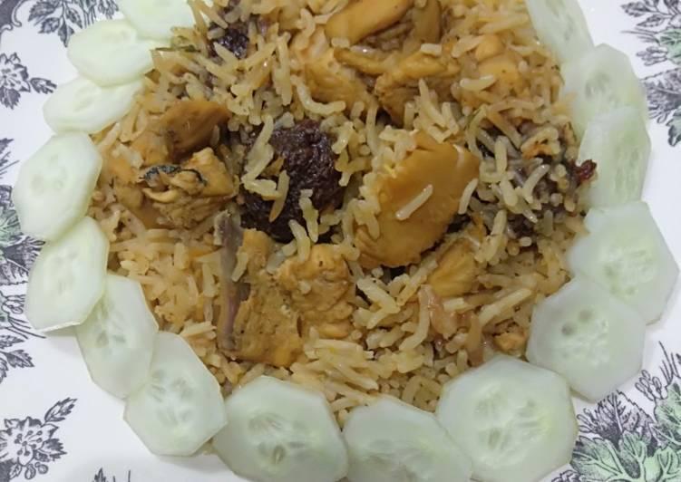 Easiest Way to Prepare Super Quick Homemade Butter Chicken Tikka Rice