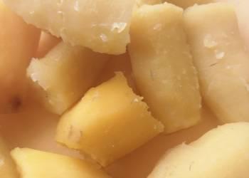Easiest Way to Make Yummy Boiled banana and sweet potatoes