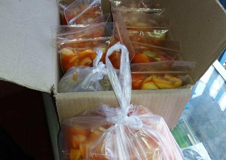 Asinan buah khas betawi asli