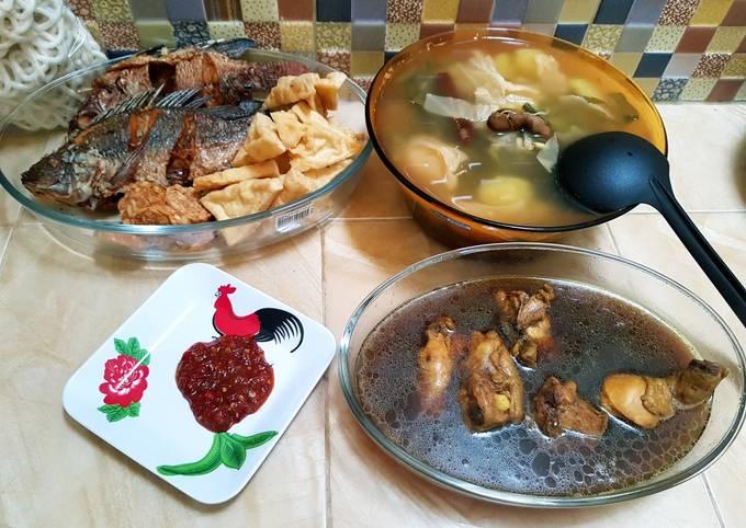 sarapan jawa timuran (sayur asem,sambel terasi) - resepenakbgt.com