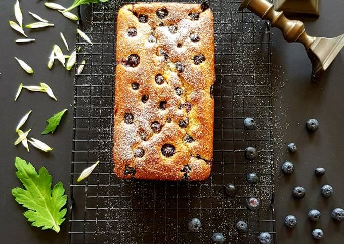 Recipe of Homemade Eggfree Almond Blueberry Cake
