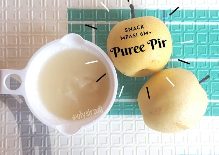 Resep Puree Buah Pir Snack Mpasi 6m Oleh Ulysiradj Cookpad