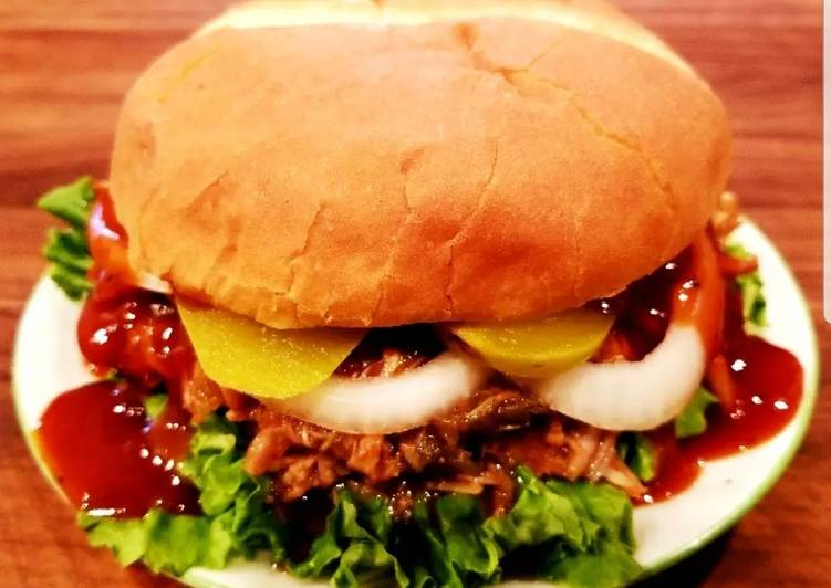 Step-by-Step Guide to Make Any-night-of-the-week Mike's BBQ Pulled Pork & Chicken Sandwiches