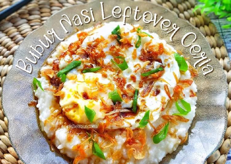 Bubur Nasi Leftover Ceria
