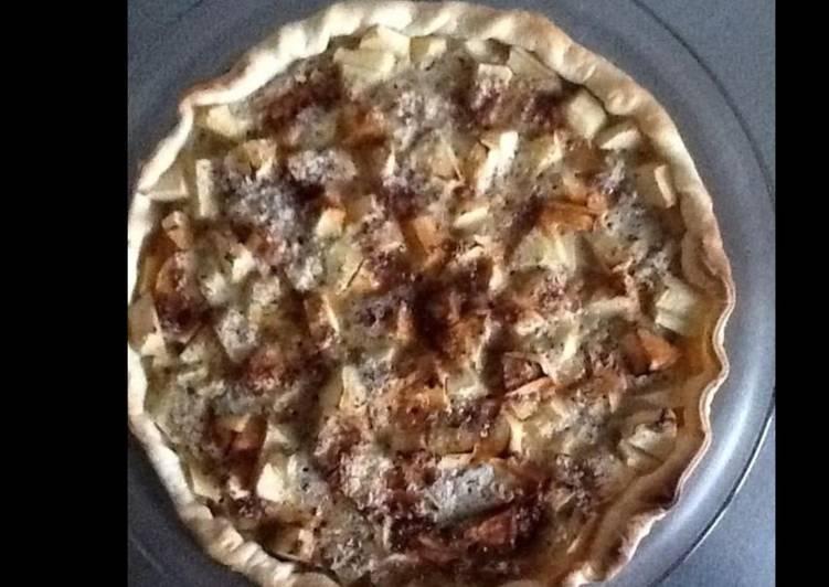 Recette Parfait Tarte aux pommes et crème de noisettes