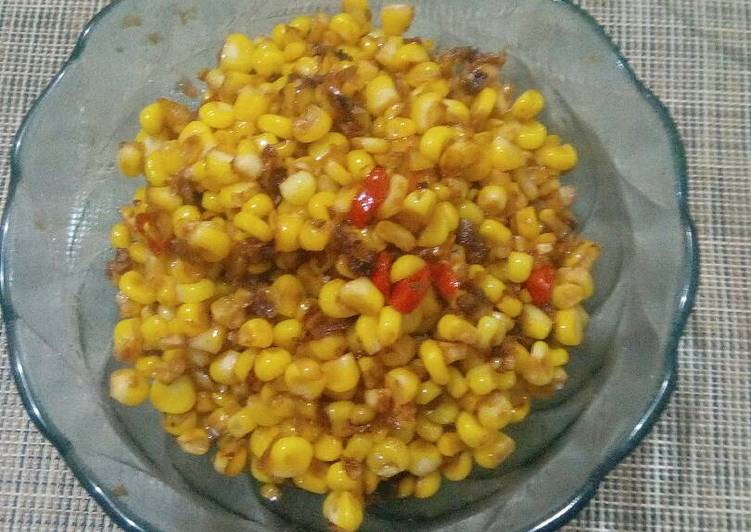 Resep Sambal Jagung Oleh Nathasya S Kitchen Cookpad