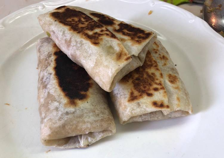 Burritos de machaca Sonorense