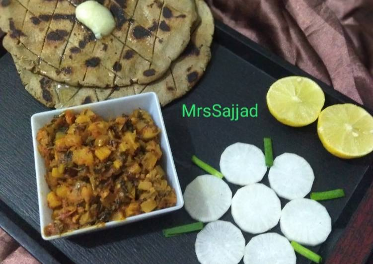 Recipe of Any-night-of-the-week Mooli ki sabzi