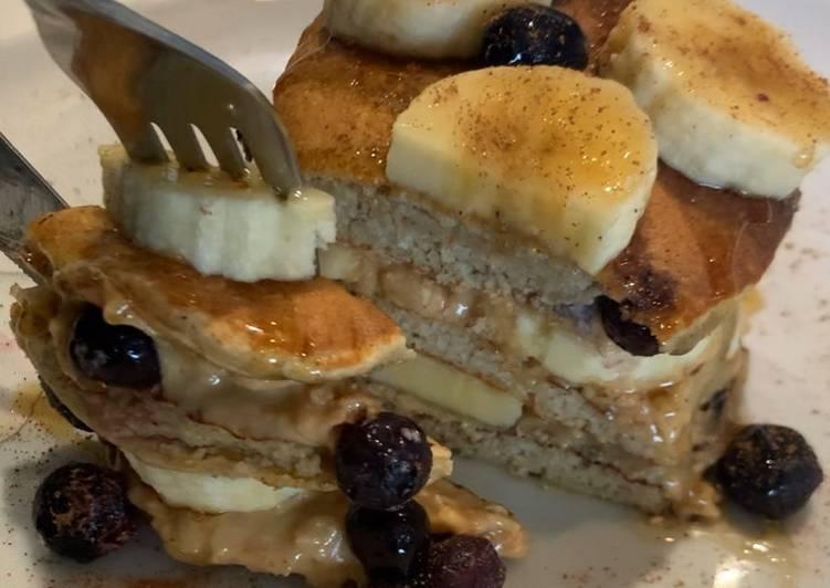 Recipe: Tasty Banana Oat Pancakes
