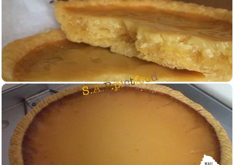 Resep Pie susu / kue lontar/ egg tart Top
