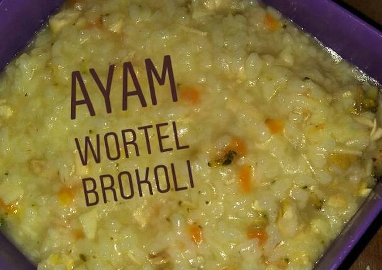 Resep Mpasi Ayam Brokoli 9 Bulan Oleh Tya Aprianty Cookpad