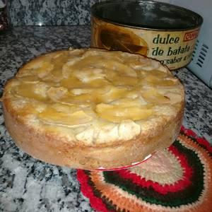 "Torta de manzana ""falsa"" invertida MUY FÁCIL"