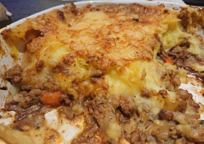 Pork Mince and Mash Potato Casserole
