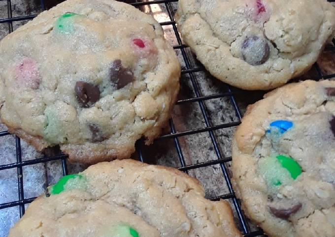 Easiest Way to Make Yummy Monster Cookies
