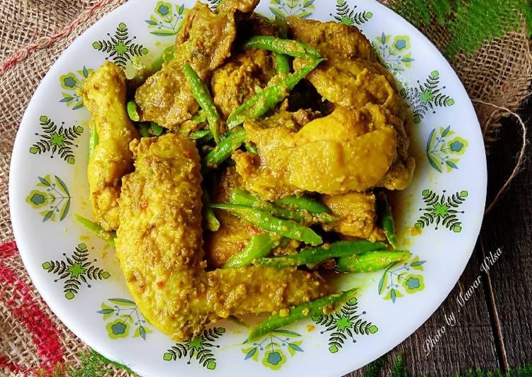 Rendang Ayam Kacang Nismilan - velavinkabakery.com