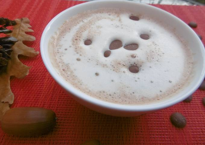 A sip of Awesomeness Peanut Butter Hot Chocolate