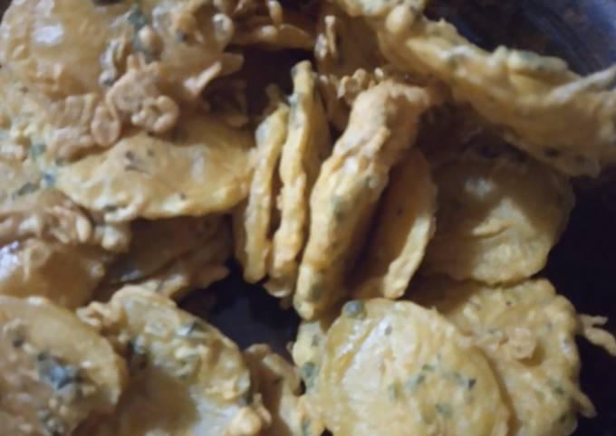 Potato Bhajiya (Maru) #endofyearchallenge#