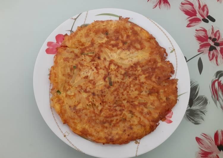 Pajoen (Pancake Korea) / Omelete Sayur Indonesia