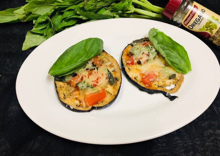 Eggplant Mini Pizza