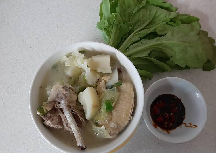 Langkah Mudah untuk Membuat Sup ayam favorit anak Anti Gagal