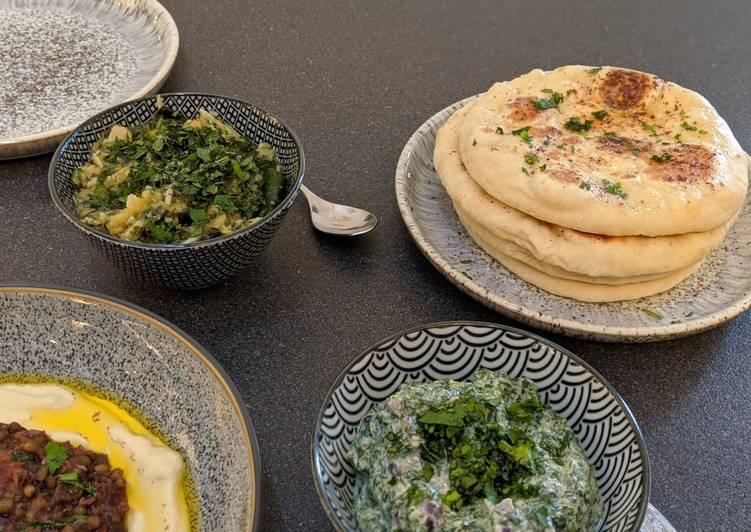 Recipe of Perfect Easy Bazlama - Turkish flatbread