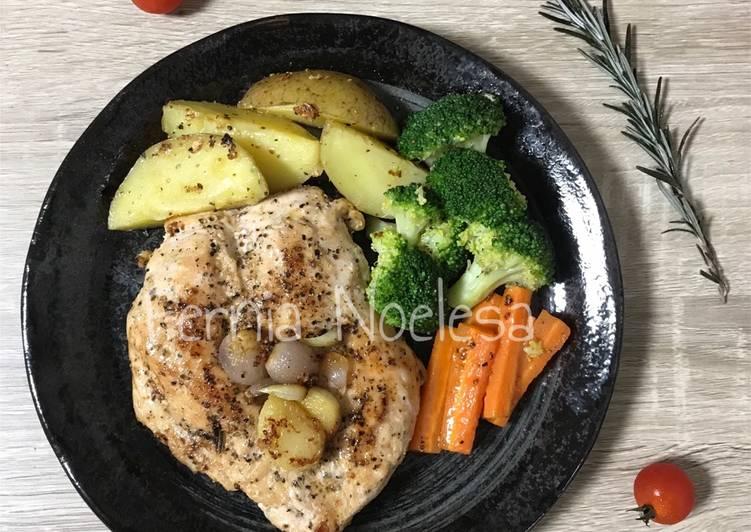 Easy Peasy Chicken Steak