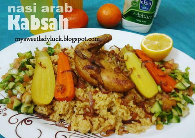 Nasi Arab KABSAH Chicken