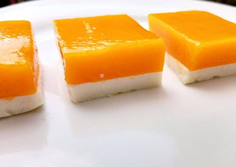 How to Make Favorite Mango coconut jelly