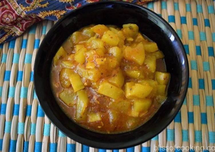 How to Make Most Popular Kacche aam ki launji (sweet and sour raw mango chutney)