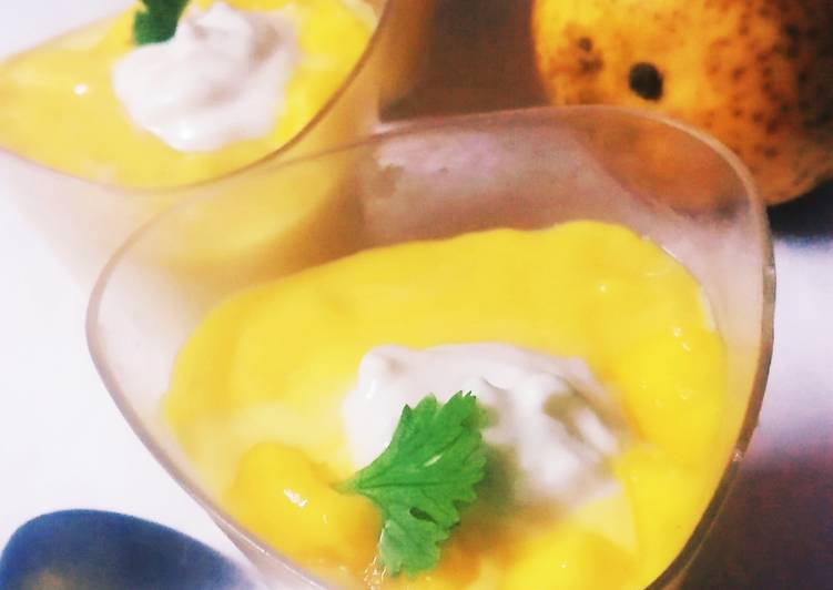 Simple Way to Make Any-night-of-the-week Mango mousse Dessert