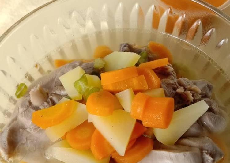 Sayur Sop Paha Ayam
