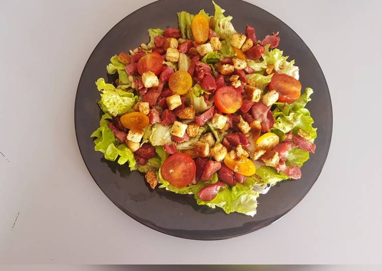 Façon la plus simple Cuisiner Délicieux Salade de gésiers de canard