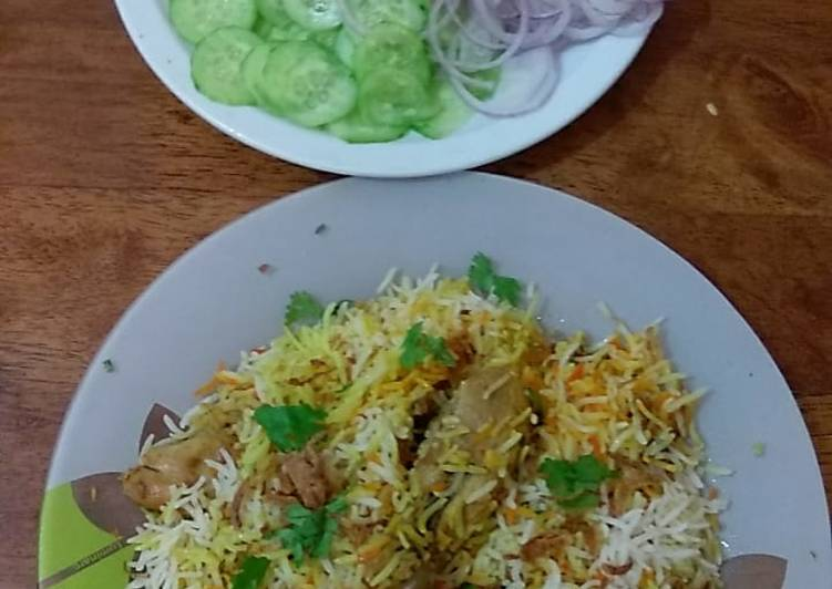 Chicken Barbeque Biryani #cookpadapp# rice contest