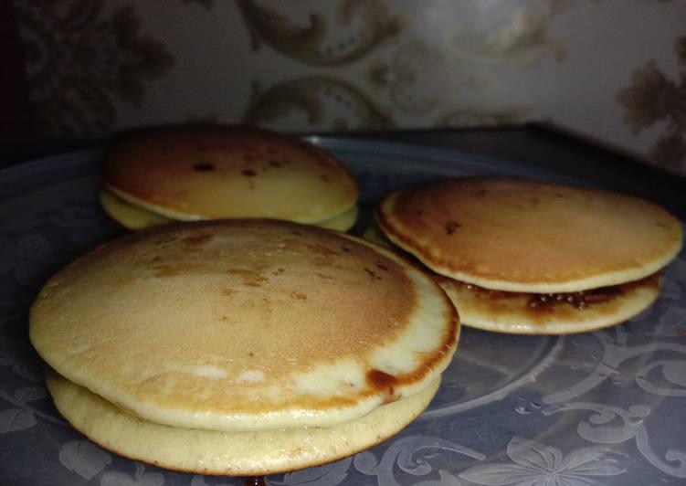 Resep Dorayaki / Pancake Paling Enak