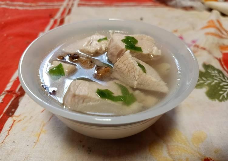 Resep Sop Ayam Ginseng Yang Gampang Lezat