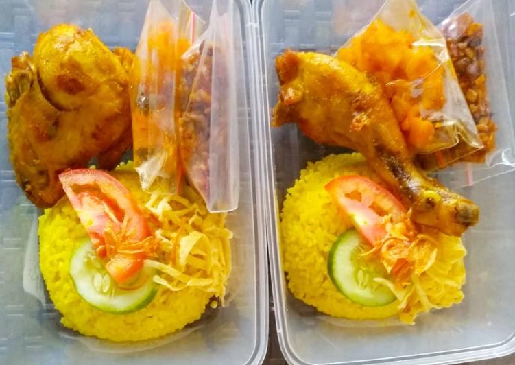 Nasi Kuning ala saya