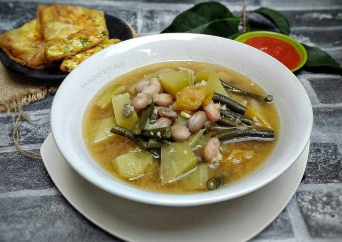 sayur asem bumbu kacang tanah - resepenakbgt.com