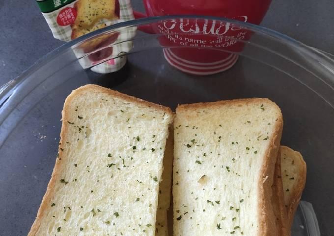 Fresh Garlic Bread in the Morning