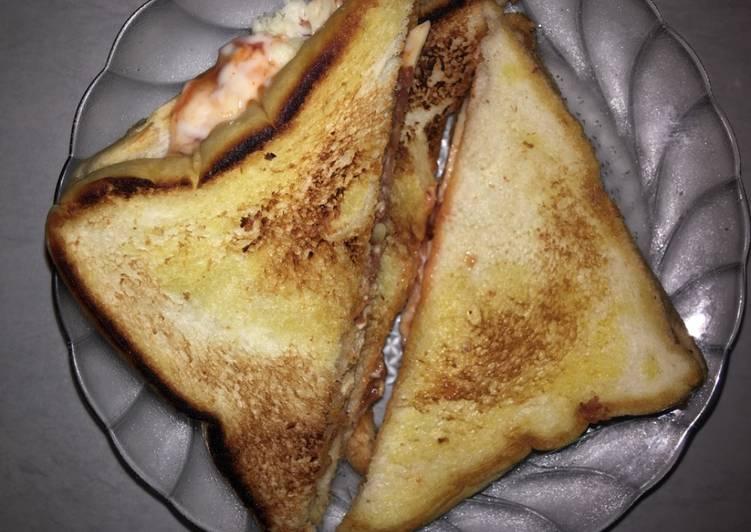 sandwich-kornet-keju-melted