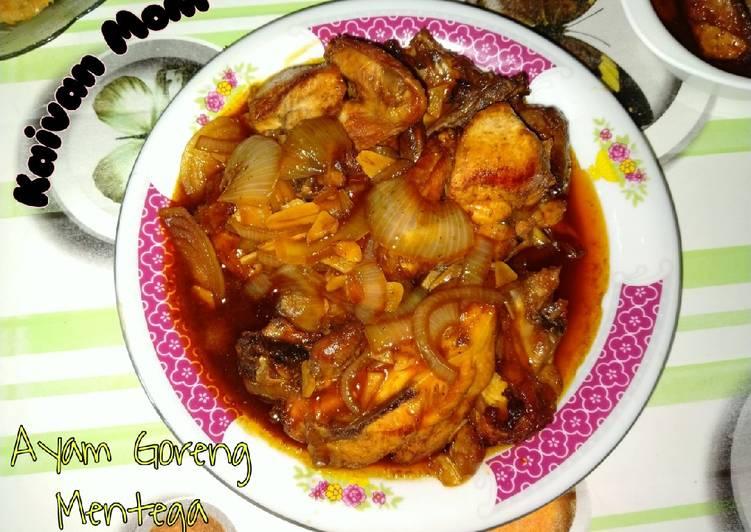 34. Ayam Goreng Mentega
