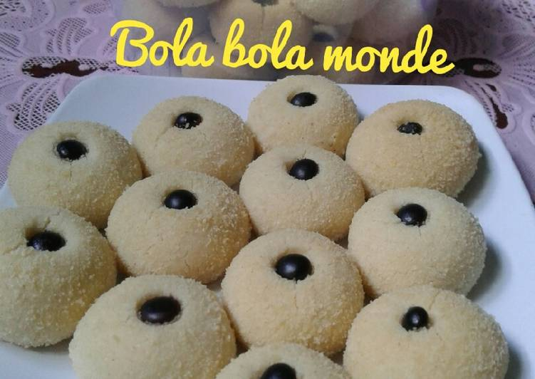 Resep Bola Monde Janda Genit Oleh Al Fa Kitchen Cookpad