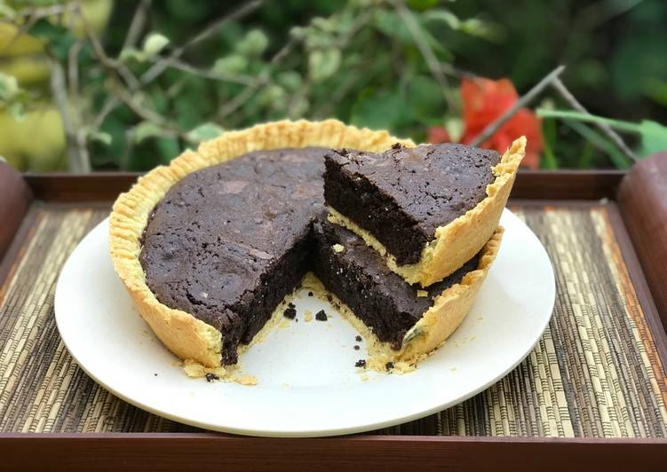 Resep Pie brownies panggang oven Paling Top