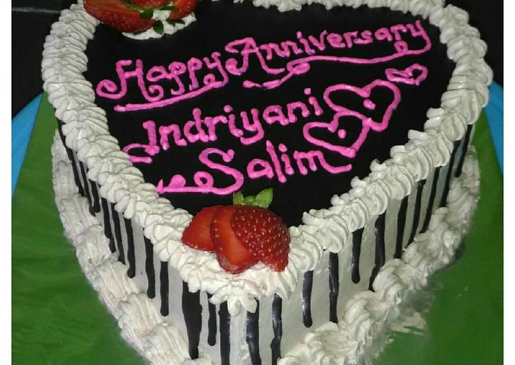 Resep Love Cake Anniversarybirthday Oleh Septi Widyalestari