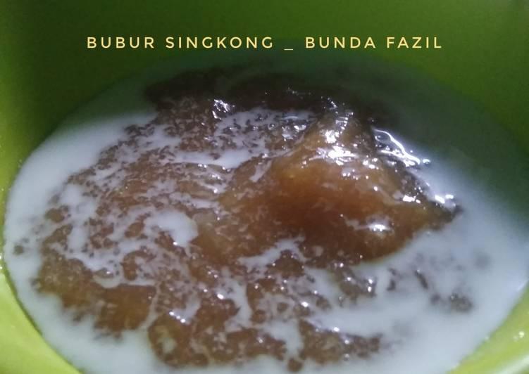 Bubur Singkong