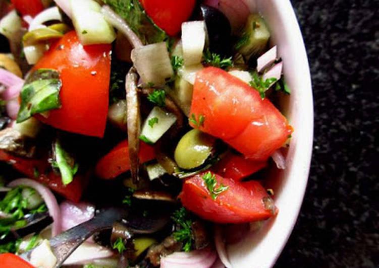Recipe: Delicious Mushroom Salad