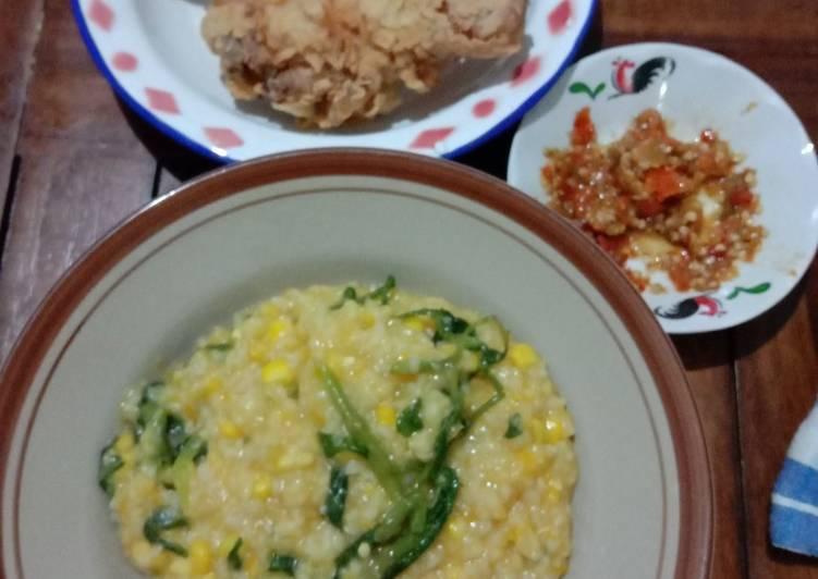 Resep Bubur Manado praktis Paling Mudah