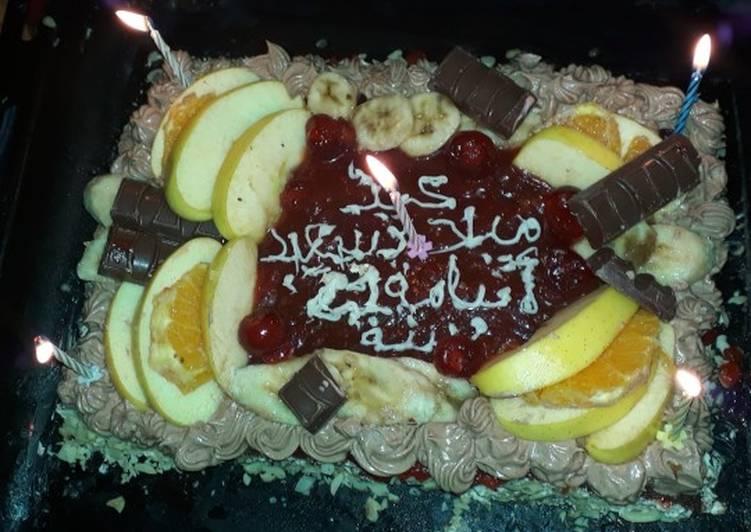 طرت بمناسبة عيد ميلاد اخي بالصور من ٱنسة حكمت كوكباد