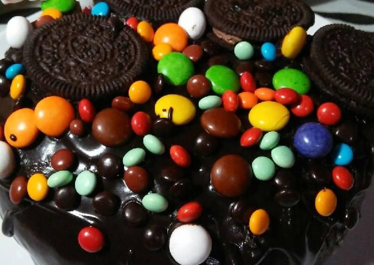 Brownies kukus coklat ganache lumer no mixer