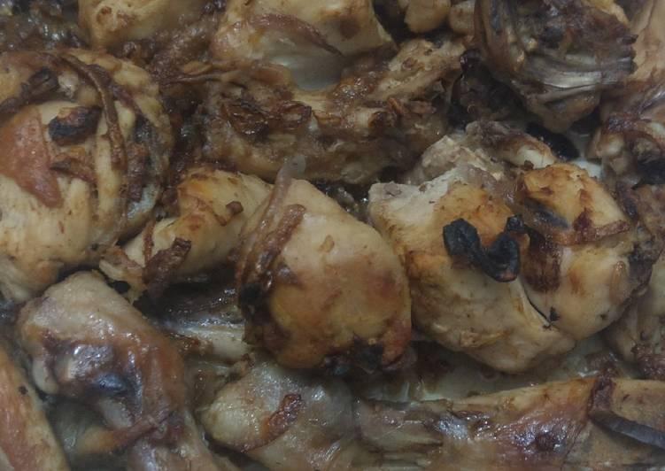 Ginger-Onion chicken